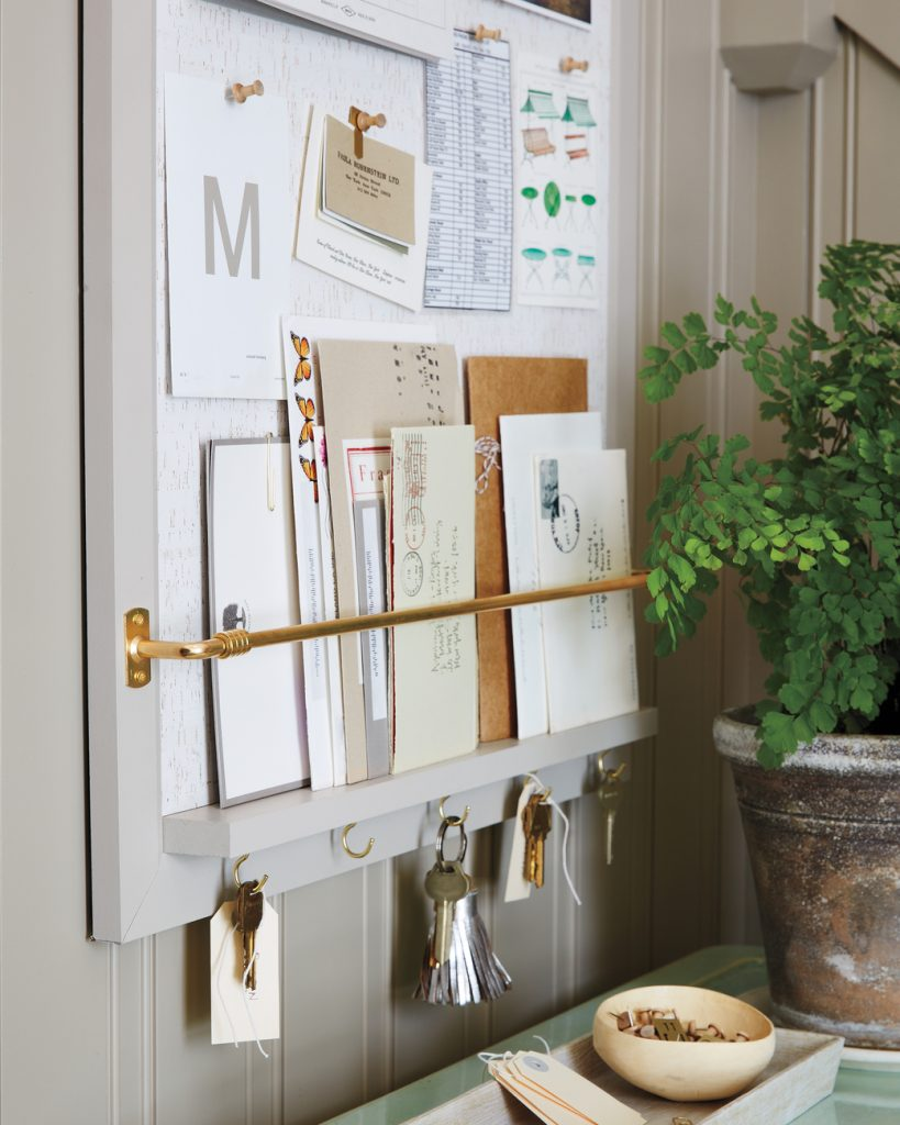 martha stewart home office bulletin board