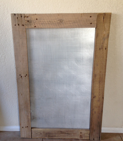 shabby chic country bulletin board