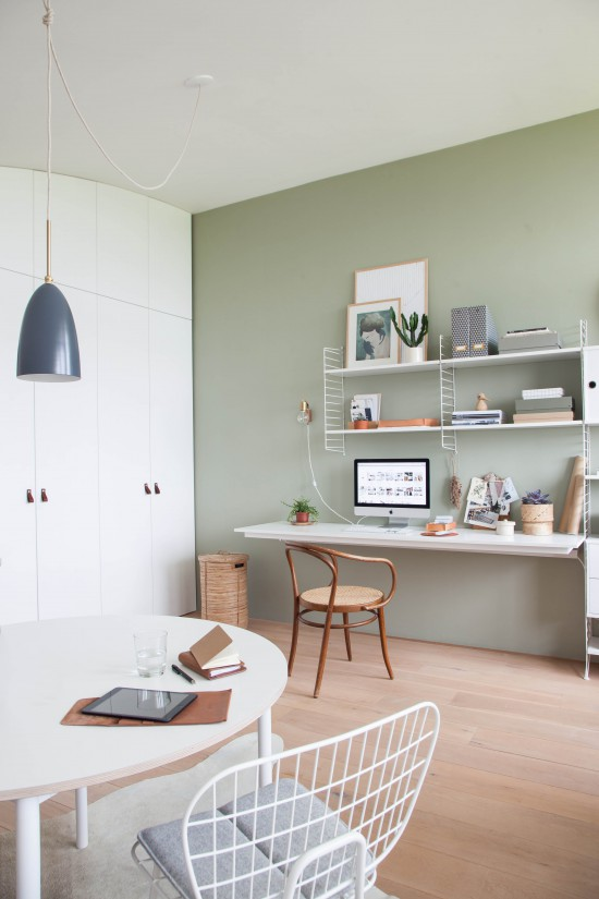 lovely-light-green-wall