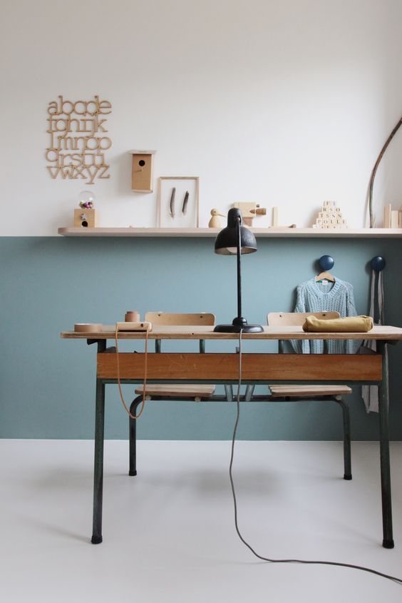 13 inspiring home office paint color ideas