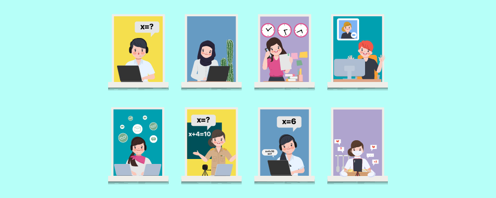 Illustration of 8 Jobs You Can Do From Home